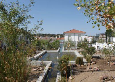 Jardín didáctico mediterráneo