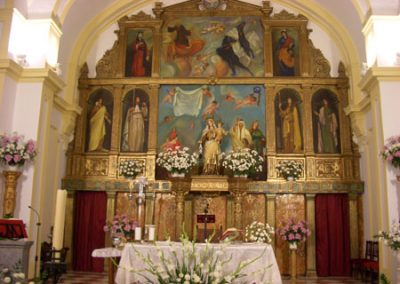 Retablo Carmelita de Antonio Leña Gomáriz