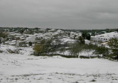 Venta del Charco, nevada 2005